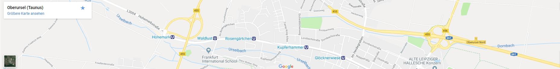 Anfahrtskarte Gaiser Grundbesitz